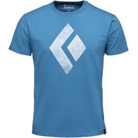 Black Diamond Chalked Up SS T-shirt Herrer, blå